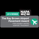 2014 Ray Brown Airport Pavement Award ~ National Asphalt Pavement Association